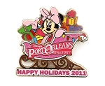 Minnie Port Orleans Resort Pink Christmas Sleigh