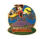 Minnie and Figaro Space Mountain Monorail Halloween Signed