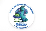 Sulley Mike Monsters University Movie Monstrous Summer Button