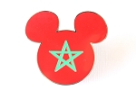 Rare Morocco Flag Mickey Icon