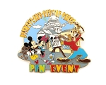 Bonjour Paris Pin Event Goofy Mickey Minnie