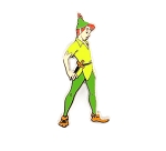 Peter Pan Standing Full Body