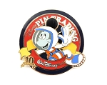Tomorrowland Space Mickey Pin Nights LE