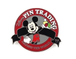 Red Pin Trading Around the World Hidden Mickey