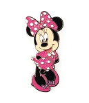 Pink Glitter Shy Minnie Mouse