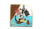 Pirate Goofy on Ship Anchor