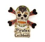 Sugar Skull Pirates of the Caribbean Crossbones