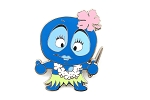 Pixee Dee Bee Silver Journey Hawaiian Character