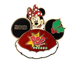 Minnie Pop Century Resort 3D Christmas Ear Hat