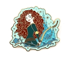 Princess Merida Glitter Castle Brave