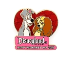 (AP) Disney Dogs in Love Lady and the Tramp Valentine's Day 2005