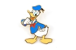 Rare Donald Duck Pointing at Himself Full Body