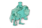 Hatbox Ghost - Haunted Mansion Rooms