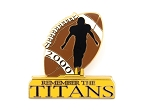 Football Remember the Titans #85 100 Years of Dreams