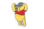 Pooh with Baseball Cap