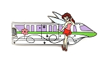 Rosetta Green Monorail Gold Card Pixie Hollow