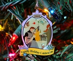 Sleeping Beauty Christmas Ornament Anniversary Cast Member