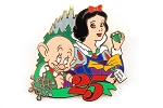Snow White and Dopey Christmas 25th Anniversary