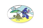 Stitch on the Beach with Turtles