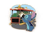 3D Stitch Magic Kingdom Trolley LE