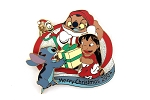 Lilo and Stitch Christmas with Santa Jumbaa and Elf Pleakley LE Jumbo