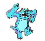 Sulley Running Monsters Inc
