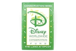The Land at Epcot Conservation Button