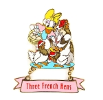 (AP) Three French Hens Daisy 12 Days Christmas