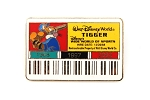 Tigger Cast Member ID Badge Wide World Sports