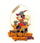 Minnie Halloween Witch with Figaro 3D Wire Trick or Treat