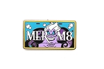 Ursula Vehicle License Plate MER M8 Little Mermaid