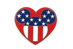 American Flag Heart Cast Exclusive USA