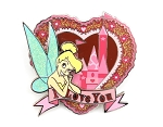 (AP) Tinker Bell Castle Heart Valentine's Day