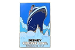 Vintage Travel Poster Disney Cruise Line 1998