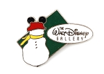 Vintage Christmas Snowman with Mouse Ears Disney Gallery