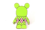 Green Argyle Sweater Vinylmation Pin