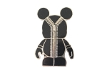 Black Zipper Vinylmation Pin