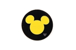 Yellow and Black Mickey Icon