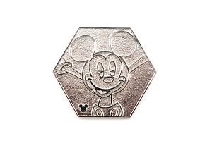 Mickey Hexagon Shape Silver Chaser 2019