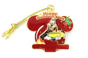 Goofy Caribbean Beach Resort Holiday Ornament