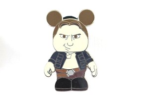 Hans Solo Vinylmation Star Wars Pin