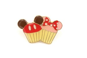 Mickey and Minnie Frosted Cupcake