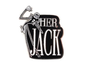 Her Jack Couple Pin Nightmare Before Christmas