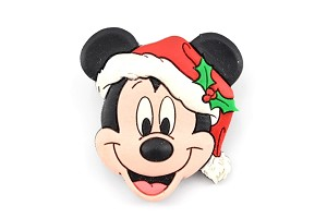 Rubber Santa Mickey Mouse