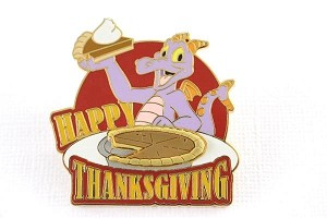 Figment Pumpkin Pie Thanksgiving LE