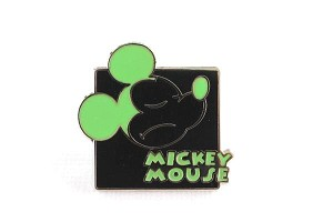 Mickey Expression - Green Hmph