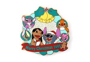 Rare Lilo Stitch Angel Christmas With Cousin Experiments Reuben Le 500