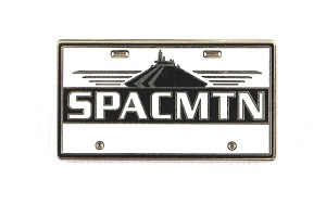 Space Mountain License Plate SPACMTN WDW