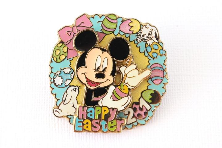 Mickey Easter Wreath with Bunnies 2010