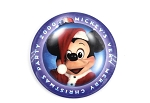 Vintage Mickey Minnie Very Merry Christmas Party 2000 Button